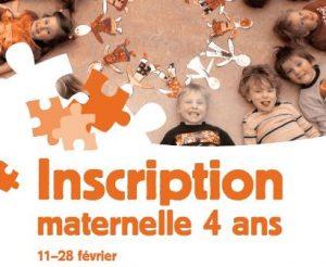 Inscriptions à la maternelle 4 ans @ École Émilie-Tremblay